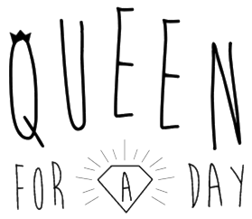 Logo de publication sur le blog de mariage Queen for a Day