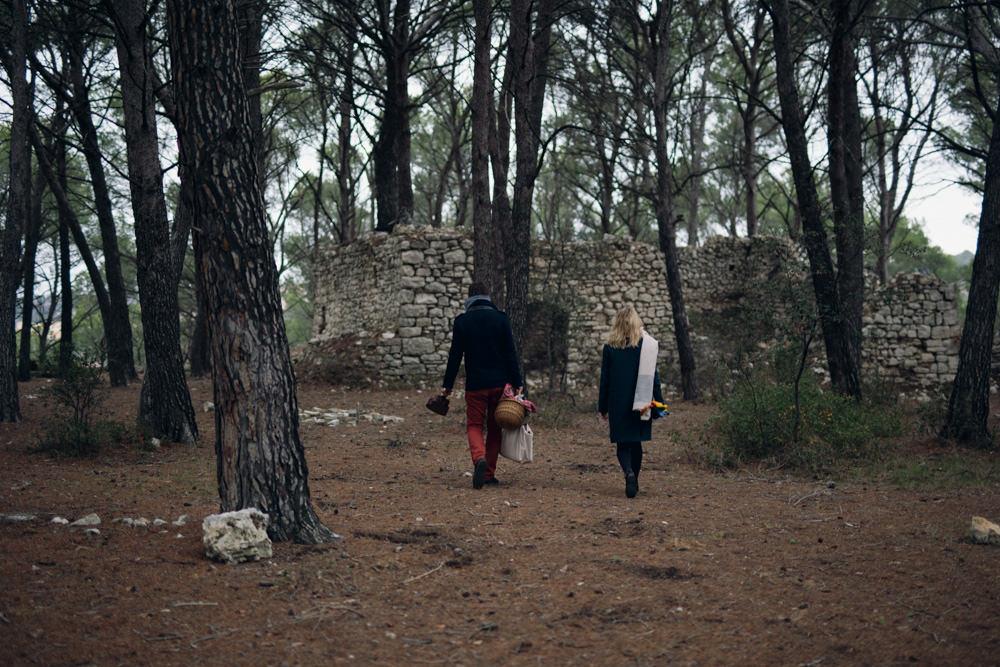 Séance engagement forêt Aix-en-Provence