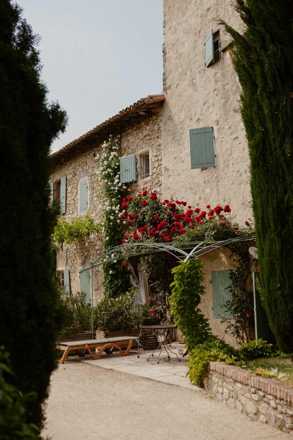Mariage Drôme provençale au Domaine la Batîe