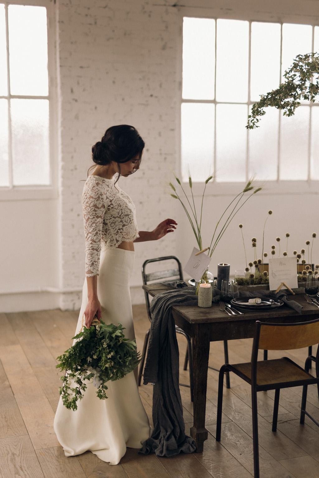 Un mariage végétal par Artis événement - Photographe mariage Paris Lika Banshoya