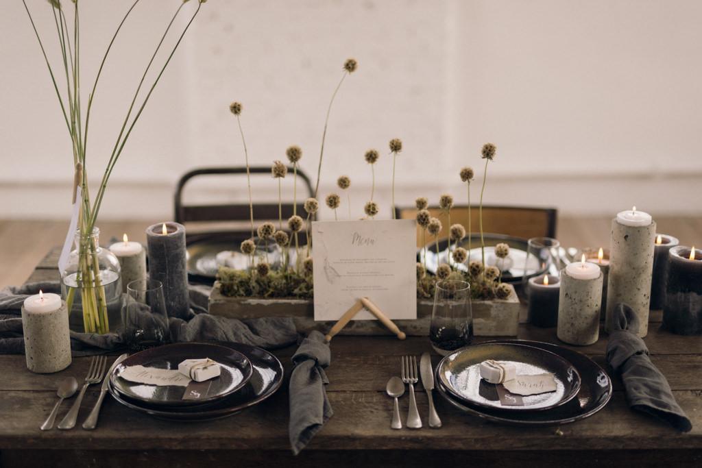 Inspiration pour un mariage intime rustique photographié par la photographe de mariage parisienne Lika Banshoya