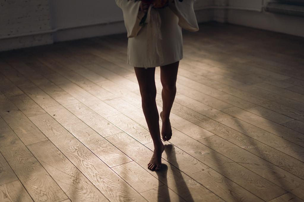 Robe de mariée civile Violette Tannenbaum photographe de mariage à Paris Lika Banshoya