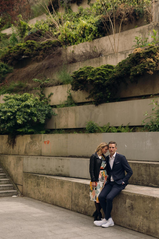 Une séance couple insolite dans Paris