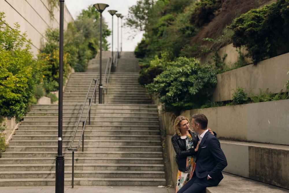 Une séance couple dans le quartier Montgallet à Paris