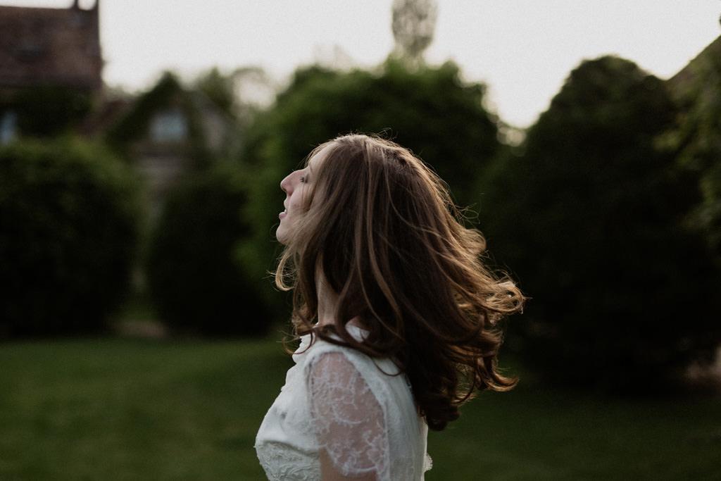 La mariée coiffée par Rock Hair Bastille