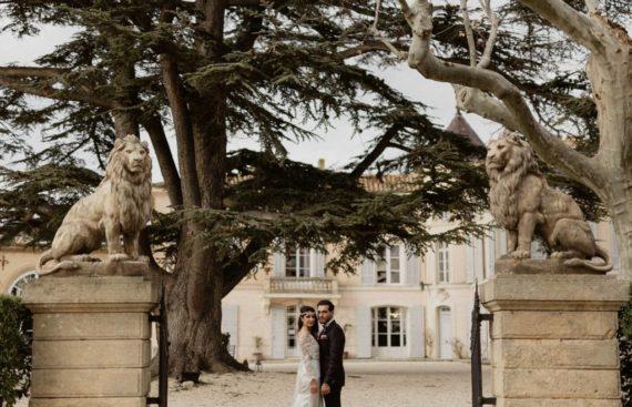 Le château d'Alphéran à Aix en Provence, un lieu de réception idéal pour un mariage