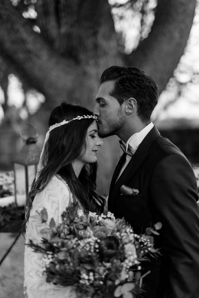 Une cérémonie laïque pour un mariage d'hiver en Provence