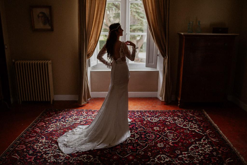 Un mariage hiver provence au château d'Alphéran