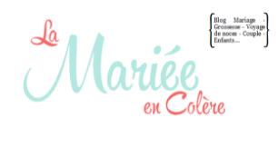 Logo de publication sur le blog de mariage La mariée en colère
