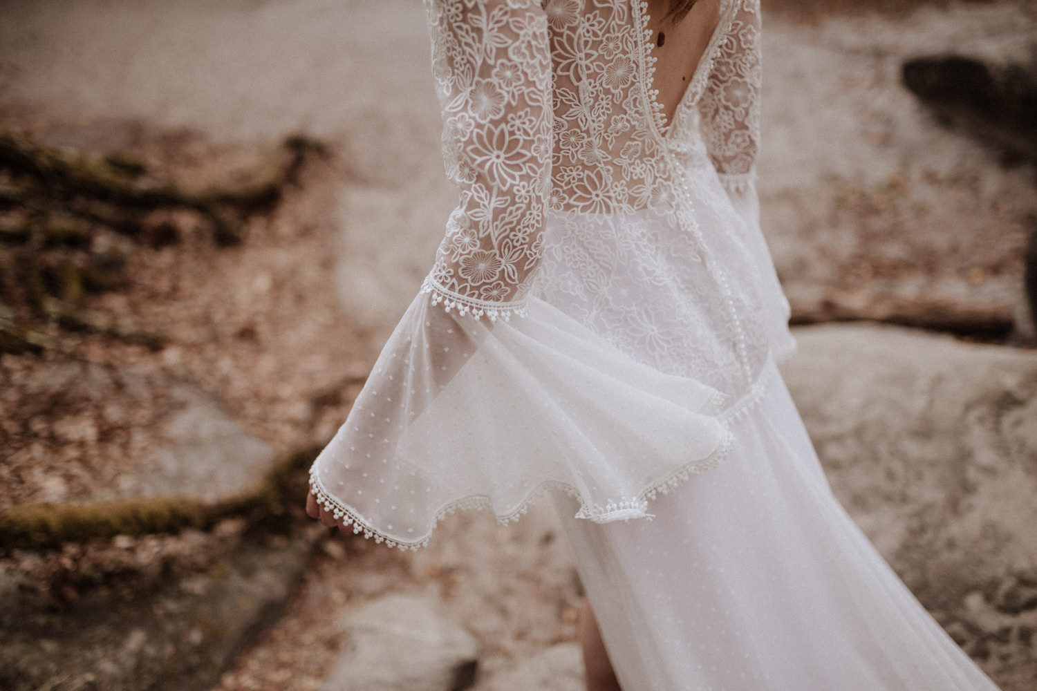 Collection robes de mariée bohème Elodie Courtat 2019