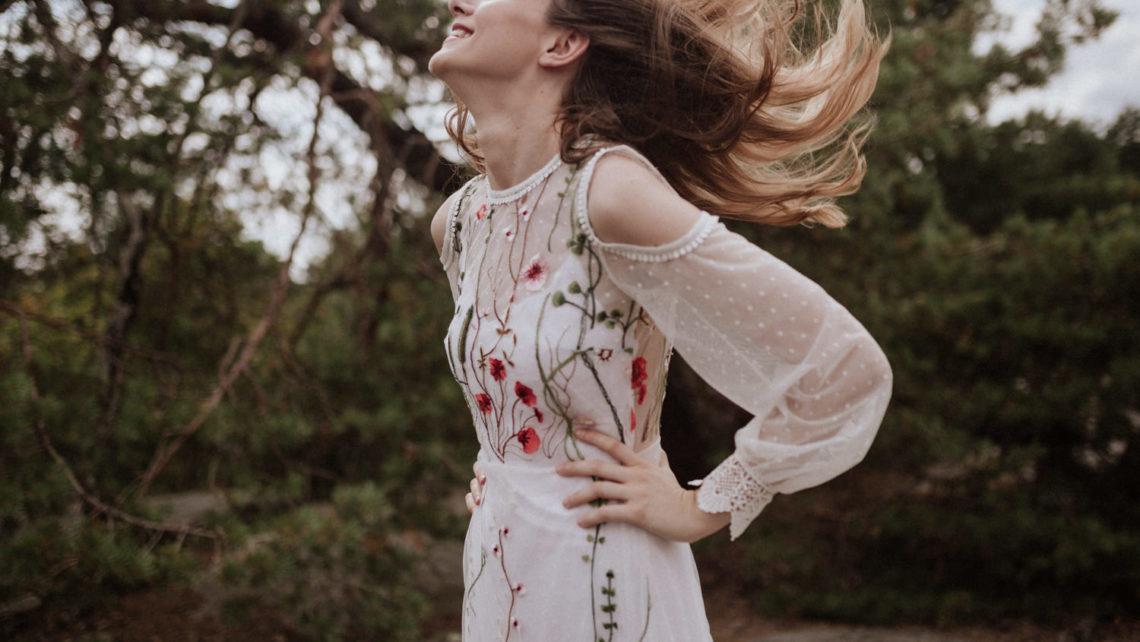 Collection robes de mariée bohème Elodie Courtat 2019