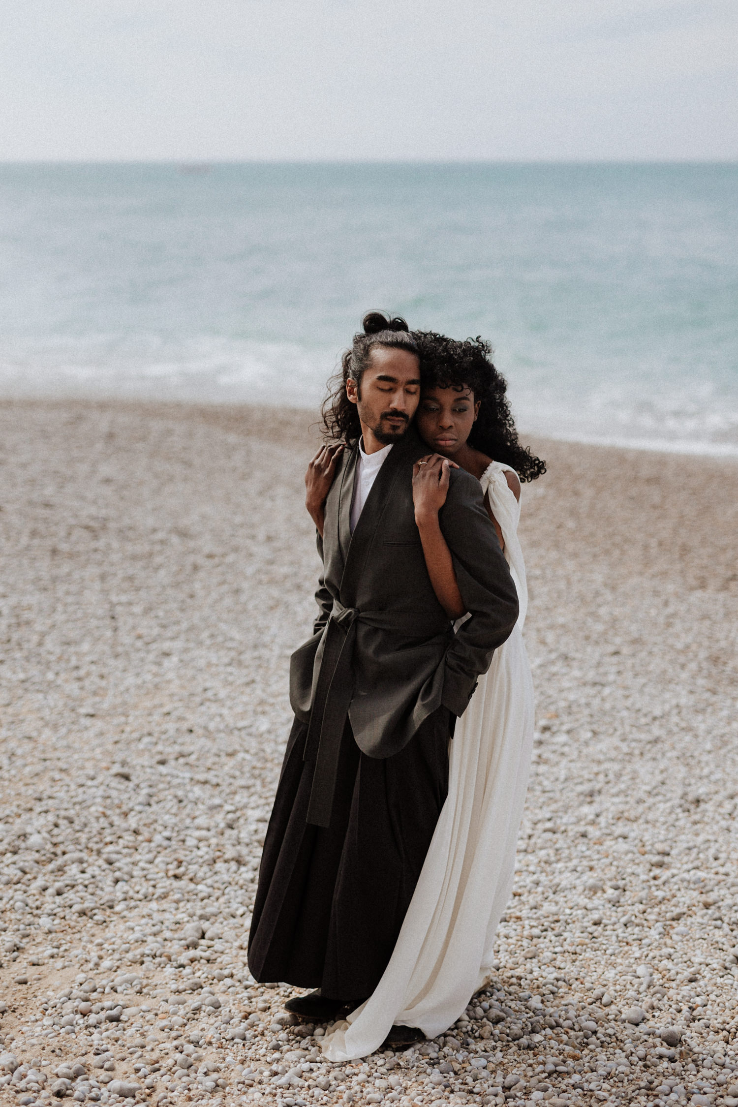 Un mariage wabi sabi à Etretat